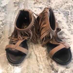 Sandals fringe Altard State